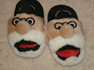 Freudian slippers.