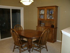 Dining room, after.