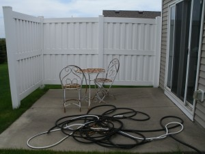 Patio, before.