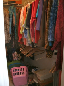 Queen closet (right side).