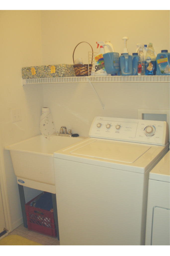Laundry room, after.