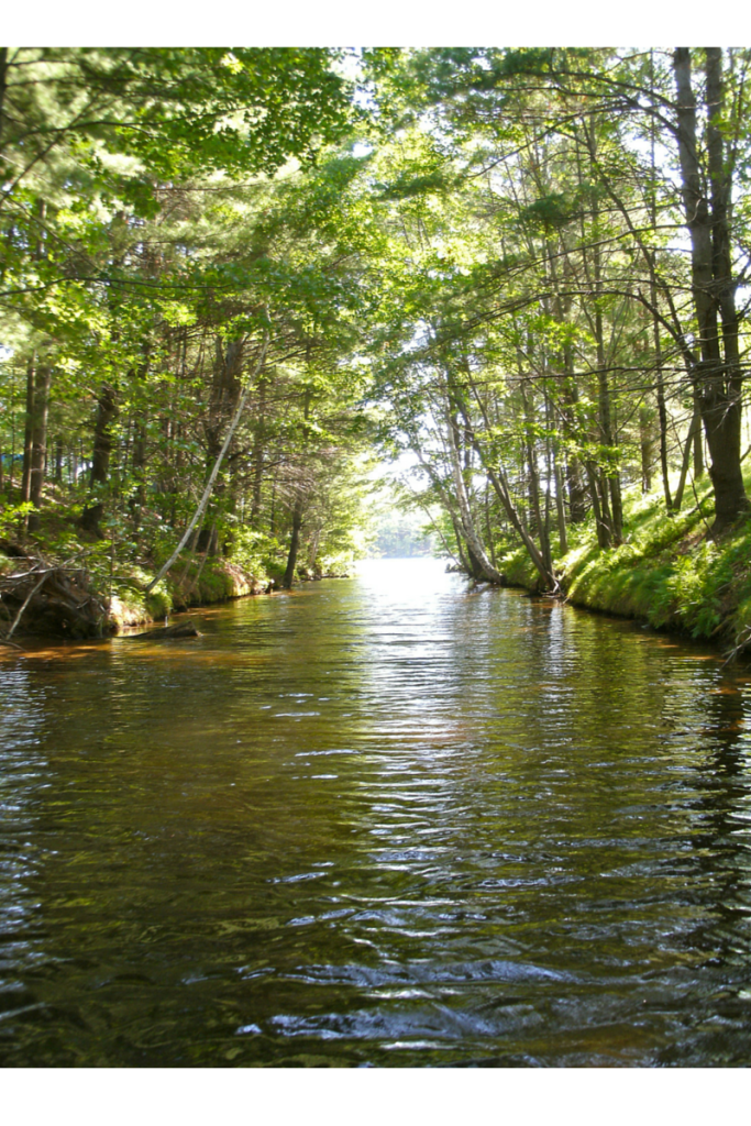 Channel between lakes-1