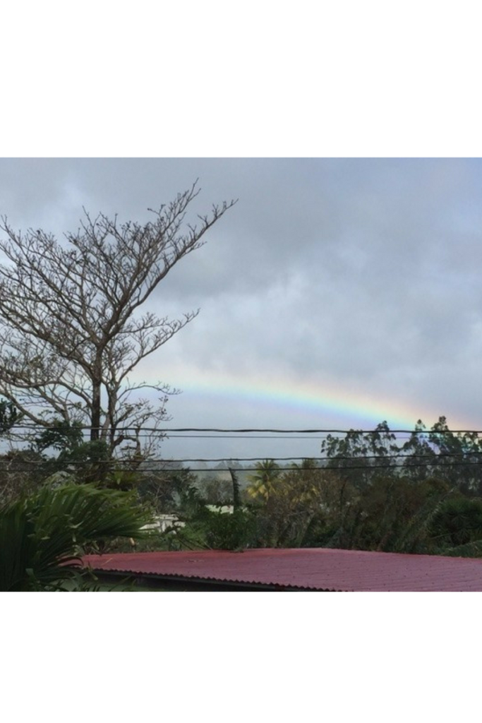 RAINBOW OVER LAKE ARENAL